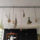 To produce these gorgeous bundles that added an element of the Ukrainian khata to our space